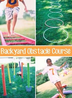 32 Fun DIY Backyard Games To Play (for kids & adults!) 32 Of The Best DIY Backyard Games You Will Ever Play - I wonder if I'm creative enough to come up with something like this. Backyard Party Games, Backyard For Kids, Diy For Kids, Lawn Games, Pool Backyard, Garden Kids, Backyard Kitchen, Pool Games, Water Games
