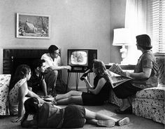 The Television: In the the television increased by a lot. Many people had televisions. One television show was the Ed Sullivan Show. The televisions started out as 10 inch screens shown in black and white. Perry Mason, Apple Tv, Nostalgia, Le Social, Social Media, Sling Tv, Bon Film, Moon Landing, Friends Tv