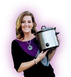 Slow Cooker Recipes from Jenn Bare for Busy Families Latest Recipes - Get Crocked Slow Cooker Duck, Slow Cooker Ground Beef, Slow Cooker Pork Roast, Slow Cooker Apples, Slow Cooker Recipes, Beef Tips And Noodles, Slow Cooker Bread Pudding, Pork Roast With Apples, Green Chili Pork
