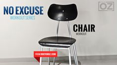 No Excuses: Chair Workout