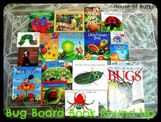 Baby-School Bug Book Round-Up