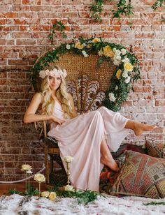 Tips + styling ideas for boho weddings + brides <3