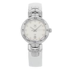 TAG Heuer Link WAT1411.FC6316 Stainless Steel & Leather Quartz Ladies Watch