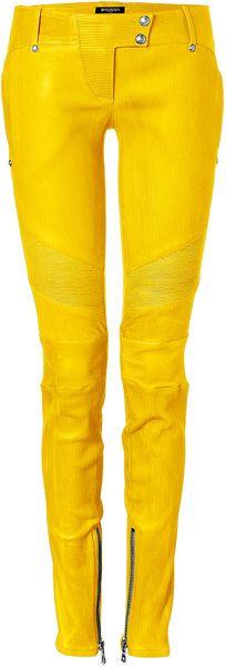 Google Afbeeldingen resultaat voor http://cdnd.lystit.com/photos/2013/02/14/balmain-yellow-yellow-low-rise-skinny-leather-pants-product-1-6392796-320132853_large_flex.jpeg