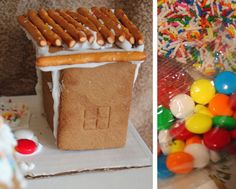 6 gingerbread house ideas and hacks.  Learn more with tips, ideas and expert articles from the Walmart Food & Celebrations Center.