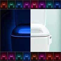 LumiLux Toilet Light Motion Detection - Advanced 16-Color LED Toilet Bowl Light, Internal Memory, Light Detection (White) – Tribe Toilet Bowl Light, Bathroom Gadgets, Lampe Led, Light Sensor, Strip Lighting, Ceiling Lights, Ceiling Fans, Wall Lights, Ebay