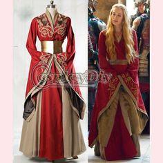 Aliexpress.com : Buy Custom Made Game of Thrones Queen Cersei ...