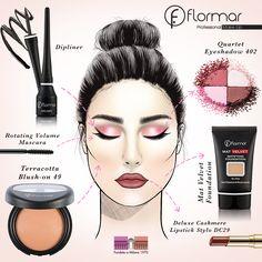 Con este maquillaje estaremos listas para un viernes perfecto. ¿Te animas a hacerlo?