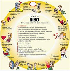 #Terapia do riso.