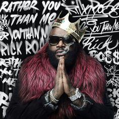 "The cover for Rick Ross's new album ""Rather You Than Me""."