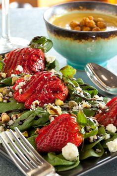 #Strawberry Fields #Salad #lunch #cuisine #yummy