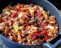 Unstuffed Cabbage Roll   07Recipes