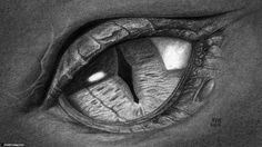 How to Draw a Dragon Eye, Smaug's Eye | FinalProdigy.com