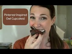 Pinterest Inspired Owl Cupcakes...win or fail?