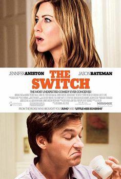 The Switch (2010) Komedie, este vrienden Wallie (Bateman) en Kassie (Aniston) zijn beiden tegen wil en dank verstokte vrijgezellen. Kassie besluit op een dag dat ze lang genoeg heeft gewacht op de juiste man en gaat op zoek naar een geschikte spermadonor. Nadat ze de perfecte kandidaat in de aantrekkelijke Roland (Wilson) heeft gevonden, geeft Kassie een feestje. Hier vindt echter een verwisseling plaats,