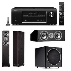 76 best home teater images on pinterest home movie theaters home denon avr 1613 51 channel 3d home theater receiver plus polk audio speaker package fandeluxe Gallery