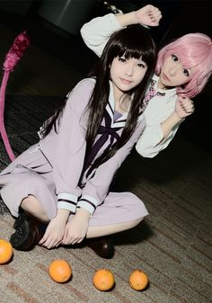 Cosplay Noragami: Hiyori y Kofuku Cosplay Anime, Cosplay Kawaii, Noragami Cosplay, Epic Cosplay, Amazing Cosplay, Cute Cosplay, Cosplay Outfits, Cosplay Girls, Group Cosplay
