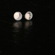 Luna earrings by Sara Budzik Photo by Hayley Masom