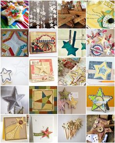 Mosaic of crafts using stars