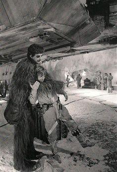 Chewbacca publicou várias fotos raras dos bastidores de Star Wars   IdeaFixa