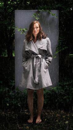 BRGN by Lunde & Gaundal,  Yr Coat, Pumice Stone Pumice Stone, Fiji, Raincoat, Urban, Bingo, Jackets, Women, Fashion, Rain Jacket