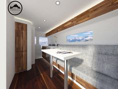 Detailed rendering for new Sprinter Van conversion by Townsend Travel Trailers. Finished product coming soon!