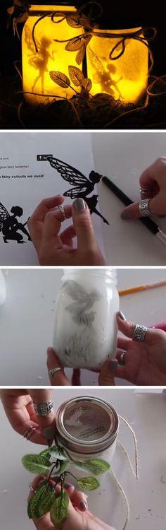 DIY Fairy Lanterns   DIY Christmas Decor Ideas on a Budget