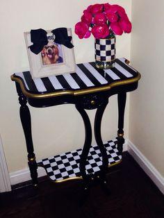 Mackenzie-Childs DIY table