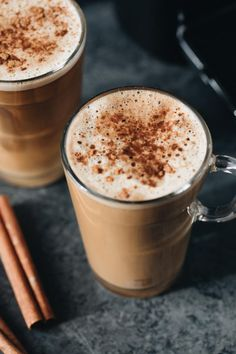 Pumpkin Spice Latte - This recipe should make lattes depending on the size of your mugs, but any excess pumpkin mixture can be stored in the refrigerator in an airtight container. Just be sure to reheat before adding your espresso. Pumpkin Puree Recipes, Pumpkin Spiced Latte Recipe, Pumpkin Spice Latte, Vegan Pumpkin, Coconut Milk Coffee Recipe, Almond Milk, Nespresso Recipes, Bariatric Recipes, Pumpkin Dessert