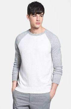 Men's Vince Wool Cashmere Blend Sweater