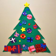 Looking for something to keep your toddler busy during the holiday's… this DIY Felt Christmas Tree will do the trick! The holiday's can be a hectic time for everyone. You may need a few minutes to clean, wrap presents, cook, visit with friends or just relax! This DIY Felt Christmas Tree will not only entertain …