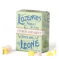 Pastiglie Leone Italian candies     Mmmmmm