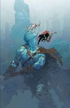 Thor: God of Thunder by Esad Ribic