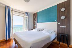 Chambre double confort vue sur mer Hôtel Kyriad Saint Malo Plage