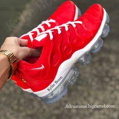 CHILLI Nike Vapormax Plus custom made by myself @kylieboon jklcustoms.bigcartel.com