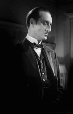 Basil Rathbone, from The Baz blog - Now, THIS GUY looks like Sherlock Holmes!!
