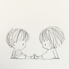 Likes, 61 Kommentare – Jane Massey ( Pencil Art Drawings, Art Drawings Sketches, Easy Drawings, Adorable Drawings, Couple Drawings, Couple Sketch, Cute Illustration, Doodle Art, Cute Art