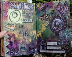 Welcome to Aina's world & stuff: During my month away I've picked up ART JOURNALING!