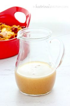 Pumpkin Spice Vanilla Butter Sauce Recipe - creamy and delicious for pancakes possibly