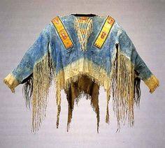 Oglala shirt, last quarter of 19th century