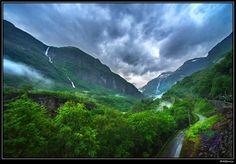 Flåm Norway | Flam's valley. Norway
