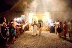 Venue in Cleveland, Ga evening wedding