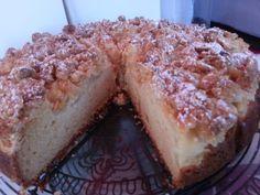 Pear & Almond Streusel Cake