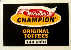Wilson's Champion Toffees South African Dishes, South African Recipes, Sweet Memories, Childhood Memories, Best T Shirt Brands, Tv Ads, The Old Days, Growing Up, Champion