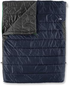 The North Face Dolomite Double 3S synthetic sleeping bag provides lightweight performance for a road trip or a weekend of summer camping. #REIGifts