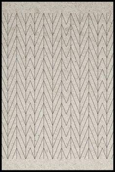 subtle pattern/texture - SUZANNE CLEO ANTONELLI