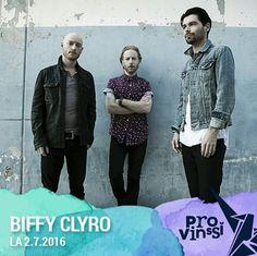 #BiffyClyro confirmed for Finland festival #Provinssirock