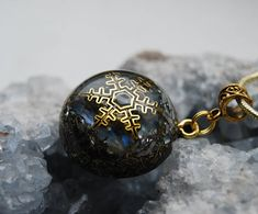Orgonite® Orgone Pendant with real blue Moonstone Unisex