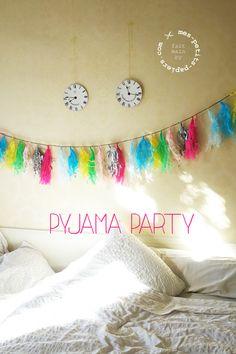 La pyjama party de lili :-)