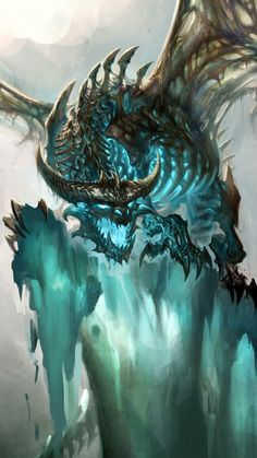 Dragon World of Warcraft. Awesome dragon shot!